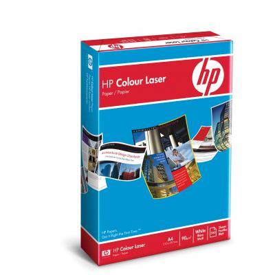Hp papier: Color Laser Paper, 90 gr/m², 500 vel, A4/210 x 297 mm - Wit