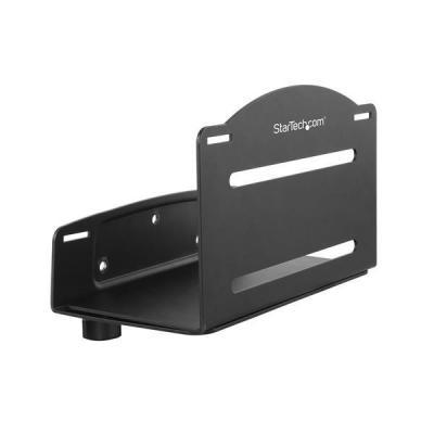 Startech.com cpu steun: CPU houder verstelbare computer muurbeugel - Zwart