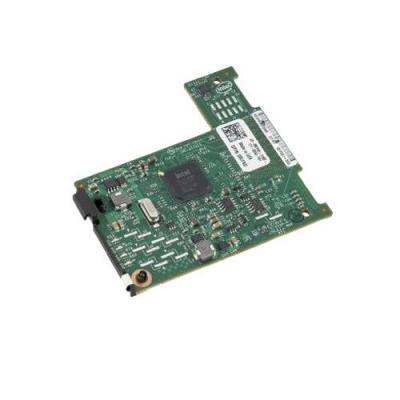 Dell netwerkkaart: Intel i350 Quad Port 1Gb Serdes Mezz Card for M-Series Blades - Groen