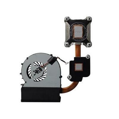 Hp notebook reserve-onderdeel: Thermal Module - Zwart, Metallic