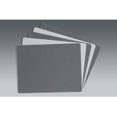 Novoflex fotosticker: Kontrollkarten Grau/Weiß