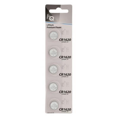 Hq batterij: Lithium Button Cell Battery CR1620 3 V 5-Blister