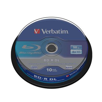 Verbatim BD-R DL 50GB 6x 10 Pack Spindle BD