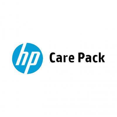 HP 5 j svc vlg werkd+max 5 onderh-kits CLJ CM4540 MFP Co-lokatiedienst