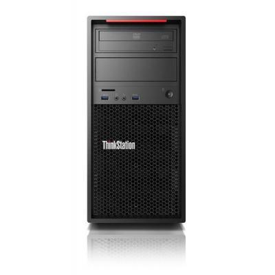 Lenovo pc: ThinkStation P410 - Zwart