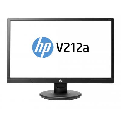 HP monitor: V212a - Zwart (Approved Selection One Refurbished)