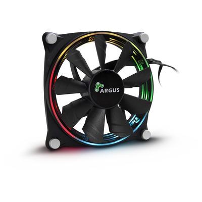 Inter-Tech Argus Valo 1205 RGB Hardware koeling - Zwart