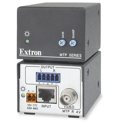 Extron MTP R AV AV extender - Zwart