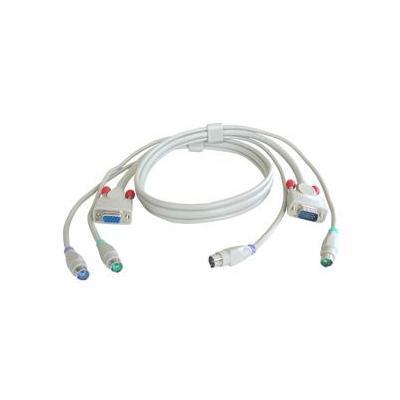 Lindy KVM Cable for KVM Switches, 2m KVM kabel