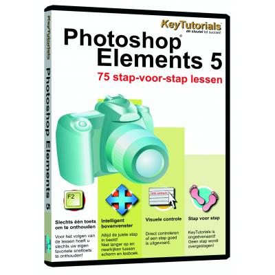 Shareart educatieve software: Keytutorials, Adobe Photoshop Elements 5.0  NL