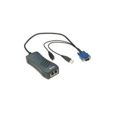 Lantronix SecureLinx Spider KVM switch - Zwart