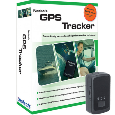Nedsoft GPS tracker: V3 - Zwart