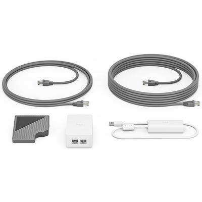 Logitech Cat5e Kit PoE adapter - Wit