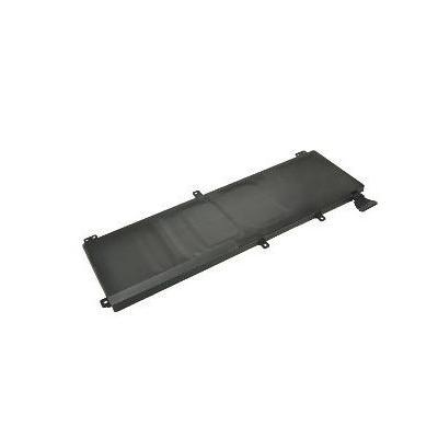 2-power batterij: Laptop, Lithium polymer, 11.1 V, 61Wh, 296 g, Rectangular - Zwart