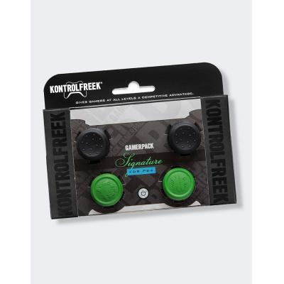 Kontrolfreek : GamerPack Gamerpack Signature PS4 action grips - Groen, Zwart