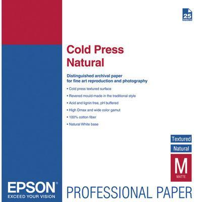 Epson papier: Cold Press Bright A2
