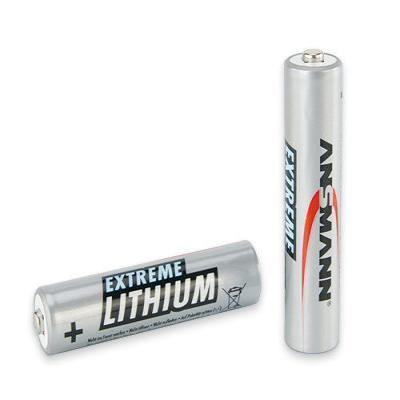 Ansmann batterij: Micro AAA/FR03 - Zilver