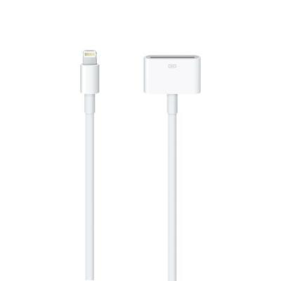 Apple kabel adapter: Lightning-naar-30-pens-adapter, 0.2m - Wit