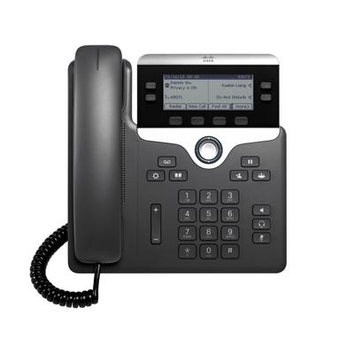 Cisco 7821 IP telefoon - Zwart,Zilver