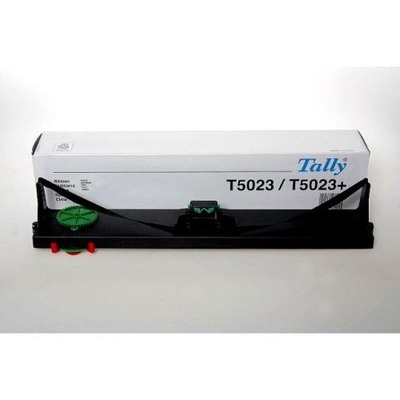TallyGenicom 10Mio signs black nylon Printerlint - Zwart
