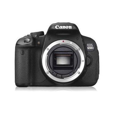 Canon digitale camera: EOS 650D - Zwart