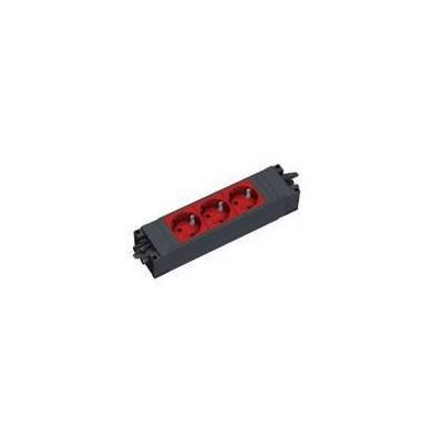 Bachmann power extrention: STEP BASE - Zwart, Rood