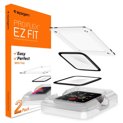 Spigen Apple Watch Series 5 / 4 40mm Screen Protector ProFlex EZ Fit - Transparant