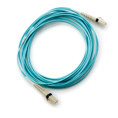 Hewlett Packard Enterprise Storage B-series Switch Cable 2m Multi-mode OM3 50/125um LC/LC 8Gb .....