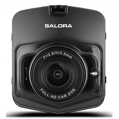 "Salora digitale video recorder: DashCam, Full HD, 1MP CMOS, 5.842 cm (2.3 "") 4:3 TFT LCD display, MicroSD, Micro-USB, ....."