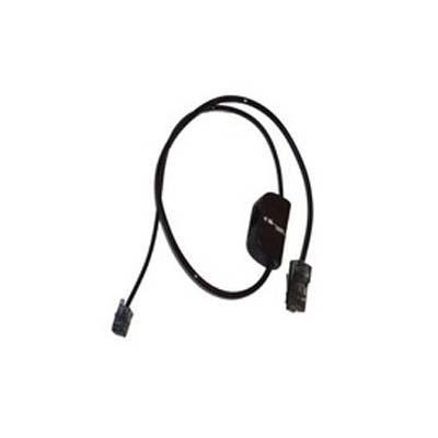 Plantronics telefoon kabel: Telephone interface cable, Savi WH500/W740/W440 - Zwart