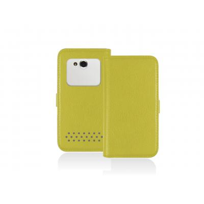 Sbs e-book reader case: Universal Book case for Smartphone up to 4'', Yellow - Geel