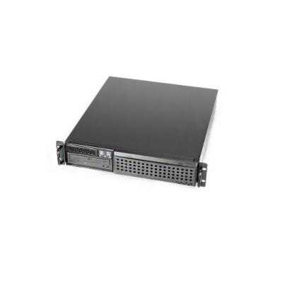 Chenbro micom netwerkchassis: 2U Cost Effective Industrial Server Chassis - Zwart