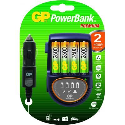 Gp batteries oplader: PowerBank PB50GS - Zwart