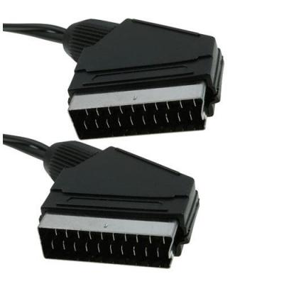 Icidu : Scart Cable, 2m - Zwart