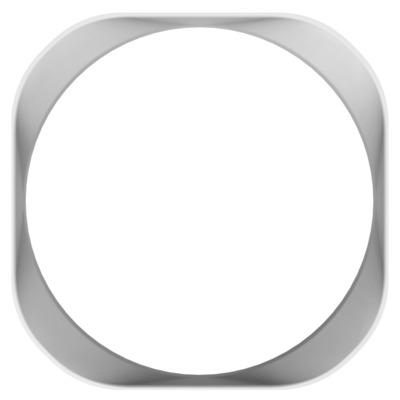 NZXT Aer Trim Computerkast onderdeel - Wit