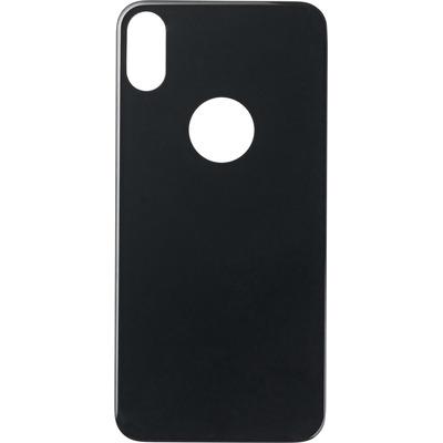 ESTUFF Apple iPhone X Rear Protection Screen protector - Zwart, Doorschijnend