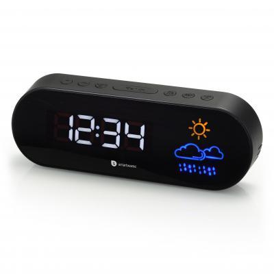 Audiosonic radio: FM/PLL, Snooze, 130g - Zwart