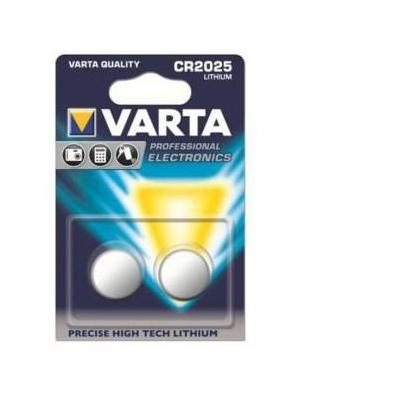Varta batterij: 2x CR2025 - Zilver