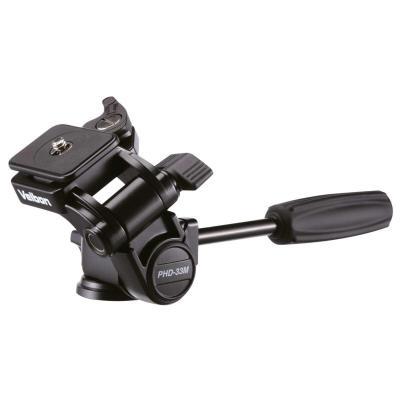 Velbon statiefkop: PHD-33M - Zwart