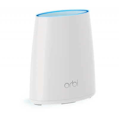Netgear wireless router: Orbi Mini RBS40 Tri-Band AC2200 Mesh Node (1-Pack) - Wit