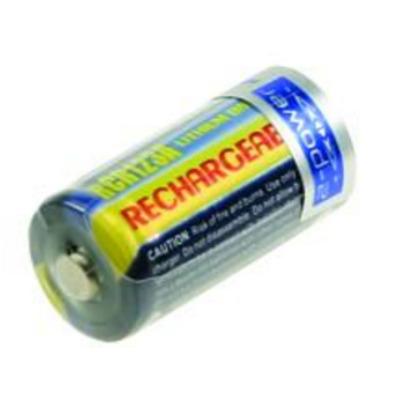 2-Power Camera Battery, 3 V, 500 mAh, Lithium ion, 34 mm x 16 mm, 17 g - Meerkleurig