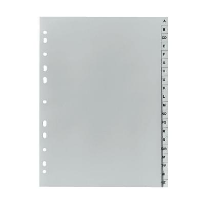 Herlitz Index A4 A-Z PP grey