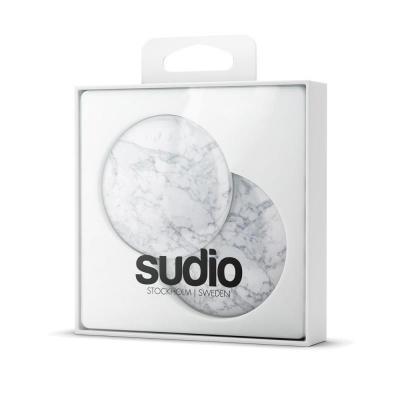 Sudio Cap - White Marble Koptelefoon accessoire