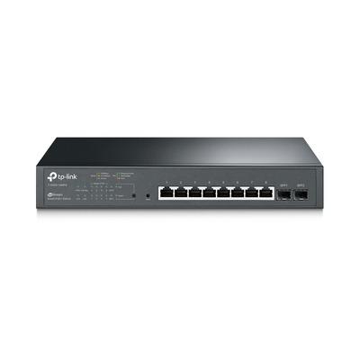 TP-LINK T1500G-10MPS Switch - Zwart
