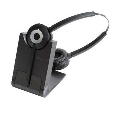 Jabra headset: PRO 930 Duo - Zwart