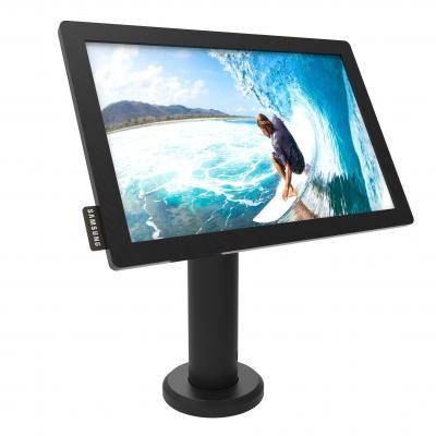 "Maclocks multimedia kar & stand: Stand f/ Samsung DB10E-T, 25.654 cm (10.1 "") , 60cm, black - Zwart"