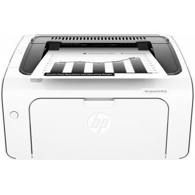 Hp laserprinter: LaserJet LaserJet Pro M12a printer - Zwart