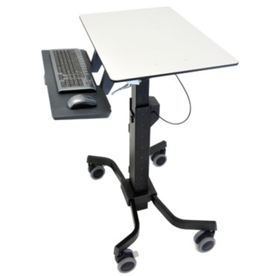 Ergotron TeachWell Mobile Digital Workspace Multimedia kar & stand - Grafiet, Grijs