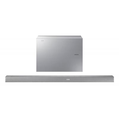"""Samsung soundbar speaker: 3.1 Ch, 340 W, 17.78 cm (7 """") , USB, Bluetooth, HDMI x 2, Anynet+ - Zilver"""