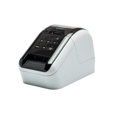 Brother labelprinter: QL-810W - Zwart, Rood